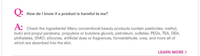 How do I know if a product is harmful to me?