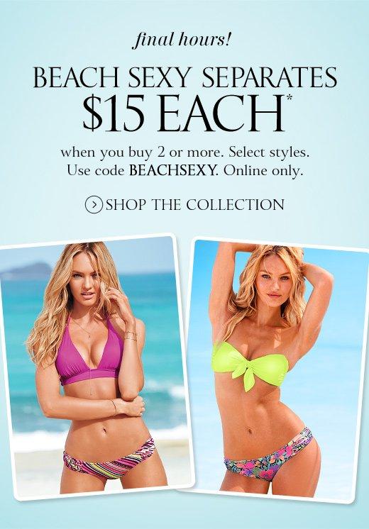 Final Hours! Beach Sexy Separates $15 Each