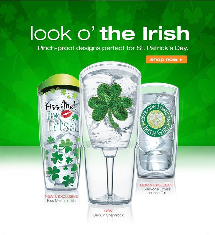 Pinch-proof designs perfect for St. Patrick's Day