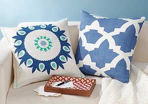 Colorful Cushioning: Throw Pillows