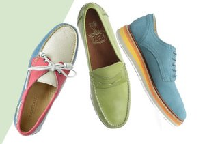 Colorful Details: Loafers & More
