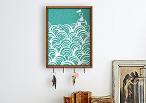 On the Wall: Decorative Organizers
