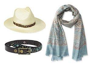 Southwest Chic: Hats, Belts & Scarves