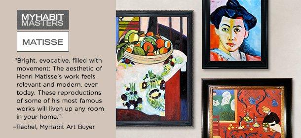 MyHabit Masters: Matisse