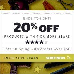 20% off 4 Stars