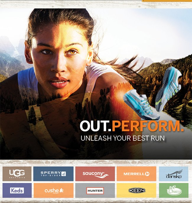 OUT.PERFORM.™ | Unleash Your Best Run