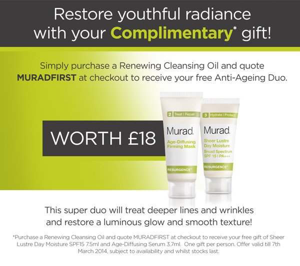 Restore youthful radiance with your complimentary gift!