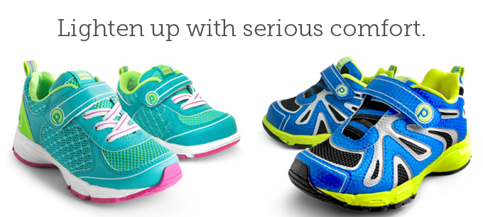 Lighten up with serious comfort.
