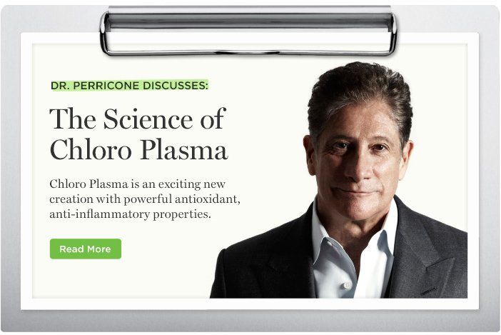 Dr. Perricone Discusses the Science of Chloro Plasma