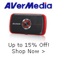 Avermedia - Up To 15% Off!