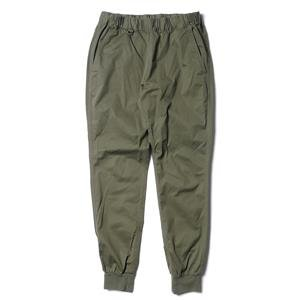 Uniform Experiment Waist Rib Cotton Training Pant Khaki