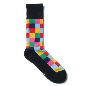 Uniform Experiment Color Chart Socks Black x Color Chart