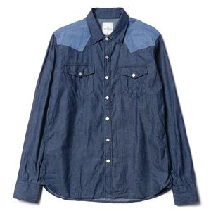 Uniform Experiment Denim Western Shirt