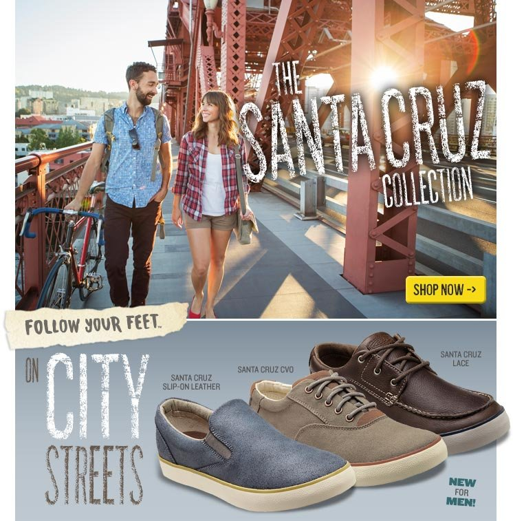 Follow Your Feet on City Streets