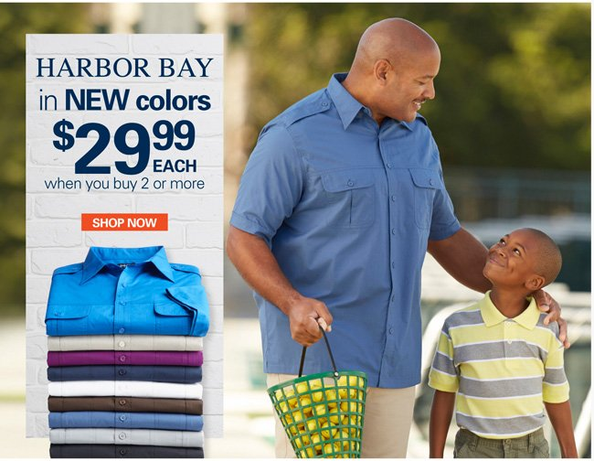 Harbor Bay & Canyon Ridge Pilot Shirts Mix and Match