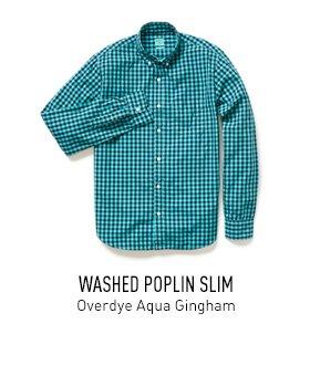 Overdye Aqua Gingham
