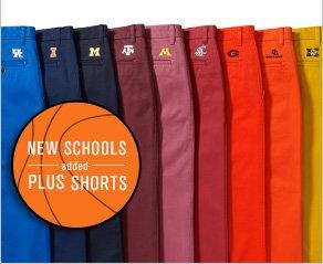New schools added plus shorts