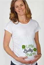 St. Patrick's Day Maternity T-shirts