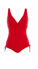 Lepel Capri V Neck Swimsuit was $57 now $45.60