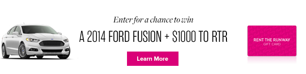 Enter To Win A Ford Fusion