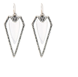 ALEXIS BITTAR - Diamond Dagger Earrings