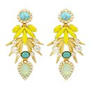 ELIZABETH COLE - Bird of Paradise Earrings