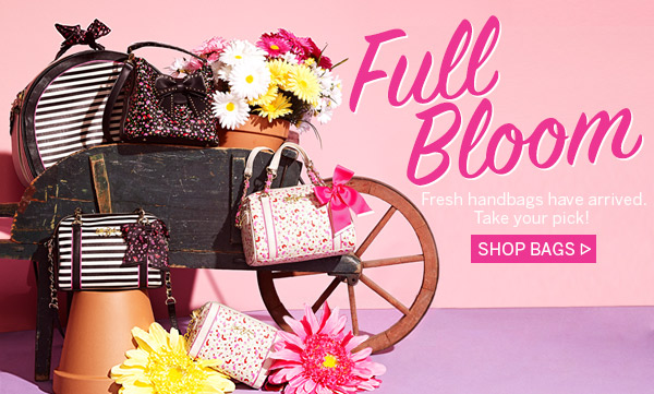 Full Bloom! Shop Bags
