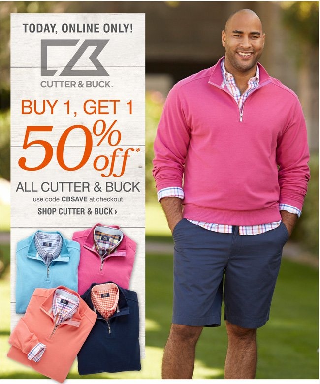 SHOP ALL CUTTER & BUCK