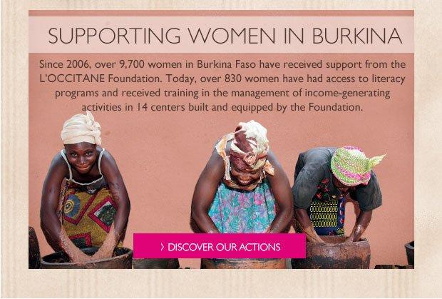 Support Women of Burkina Faso