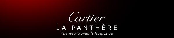 Cartier - LA PANTHÈRE - The new women's fragrance