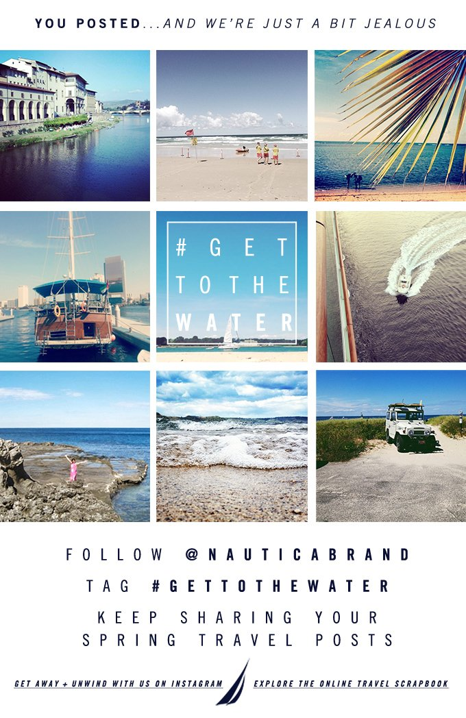 You posted... and we're just a bit jealous. Keep sharing your Spring travel posts. Follow @NauticaBrand on Instagram