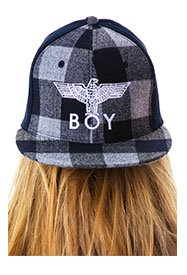 boy-london-boy-plaid-cap