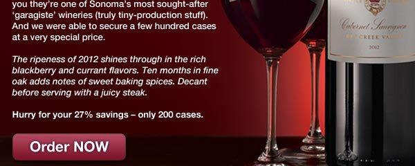 Hurry! Only 200 cases available. Order NOW.