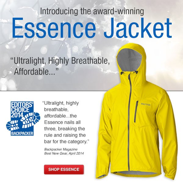 Award Winning Marmot Essence Jacket
