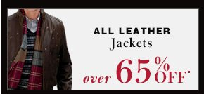 Leather Jackets - Over 65% Off*