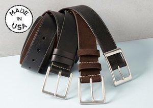 Made in USA: Gordon Rush Belts