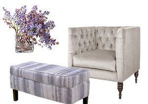 Soft Hues: Grey & Lavender