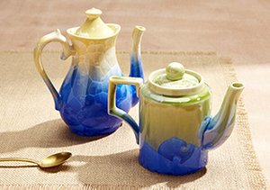 Gorgeously Glazed: Oil Lamps & More