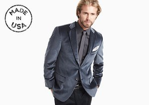 Made in the USA: Suiting