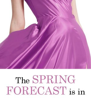 The Spring Forecast is in