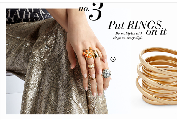 The Spring Edit: Rings