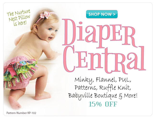 15% off Diaper Central