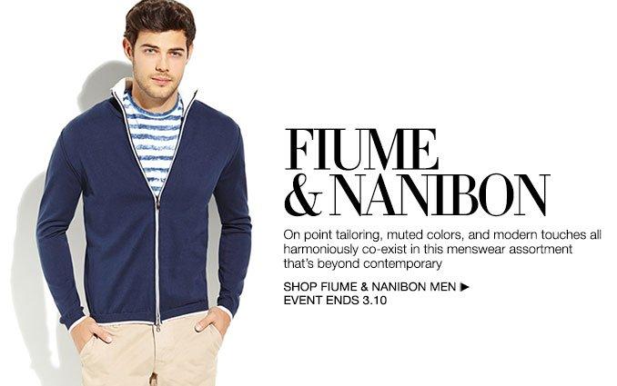 Shop Fiume & Nanibon - Men.