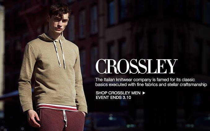 Shop Crossley - Men.
