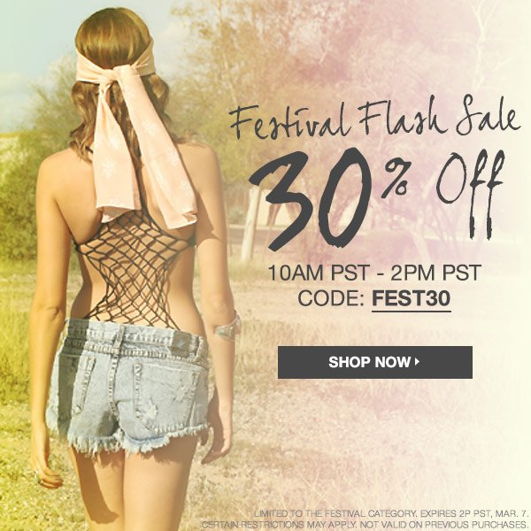 Shop festival favorites at BTY.