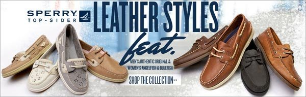 Shop Sperry Leather Styles at Journeys!