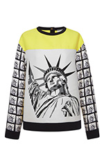 Yellow Cady Statue Of Liberty Top
