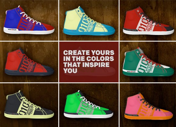 CREATE YOURS IN THE COLORS THAT INSPIRE YOU