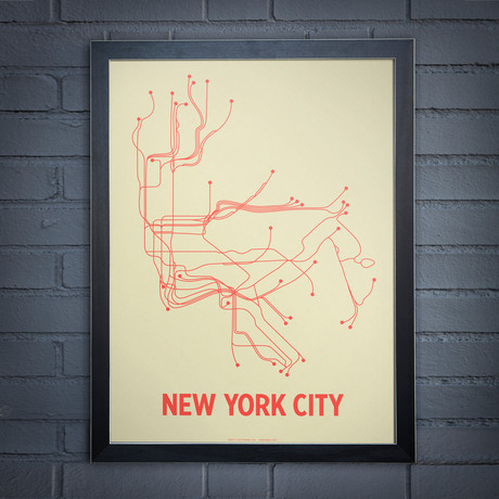 NYC Screen Print