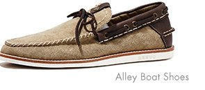ALLEY BOAT SHOES